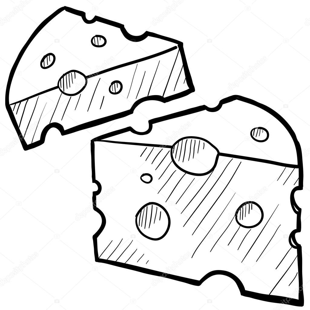 Swiss cheese black and white clipart image library Swiss Cheese Drawing | Free download best Swiss Cheese ... image library