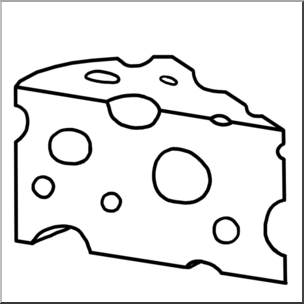 Swiss cheese black and white clipart svg freeuse Clip Art: Swiss Cheese B&W I abcteach.com | abcteach svg freeuse