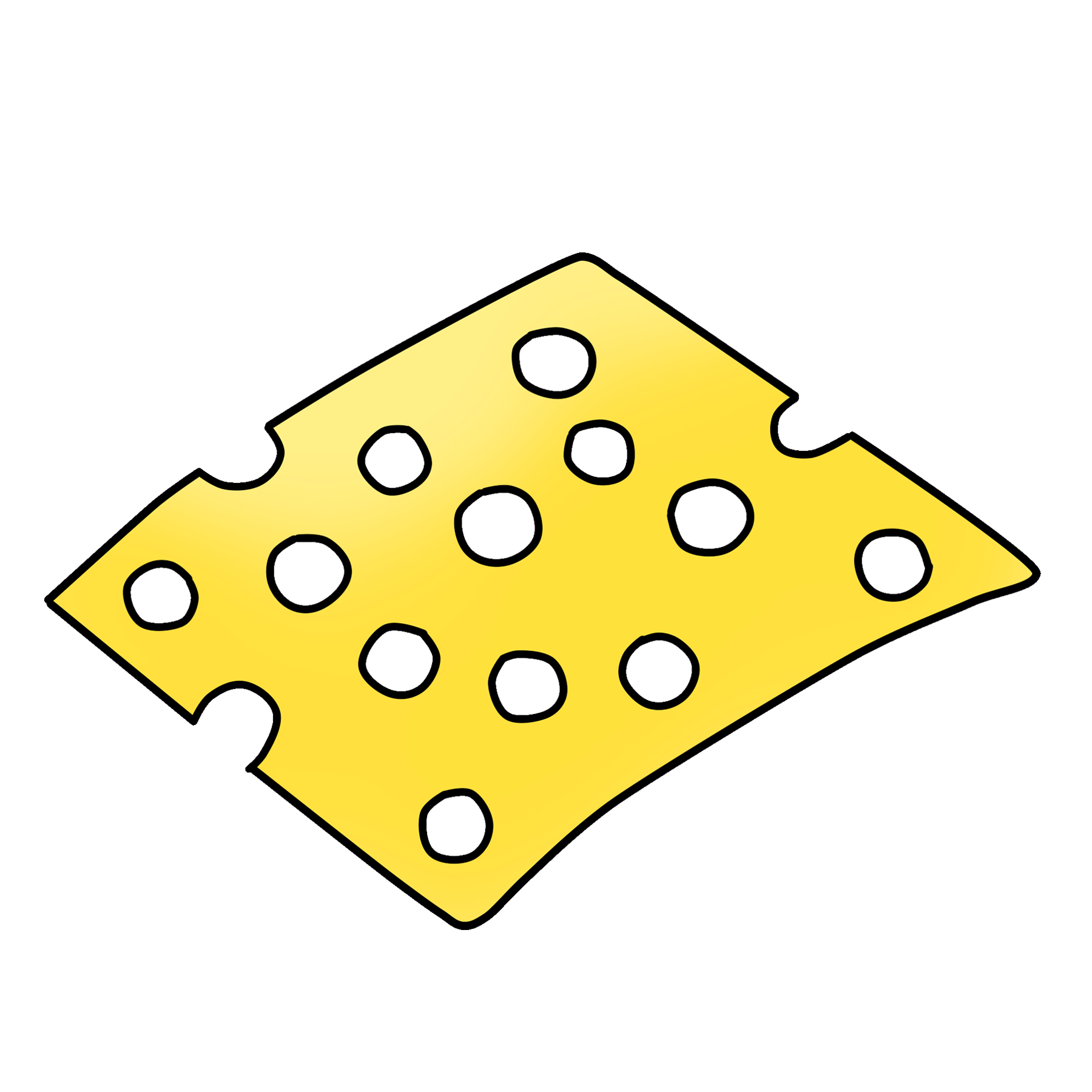 Swiss cheese pictures clipart vector transparent library Swiss Cheese Clipart Download Graphic | Clipart 4 School vector transparent library