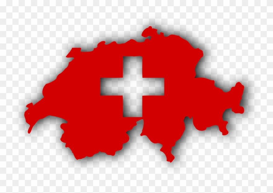 Swiss clipart vector transparent Switzerland Flag Png Transparent Images - Made In Swiss Logo ... vector transparent