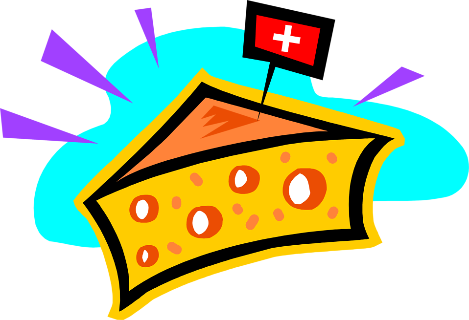 Swiss clipart clip art freeuse library Flag of Switzerland Swiss cheese Clip art - Swiss Cheese ... clip art freeuse library