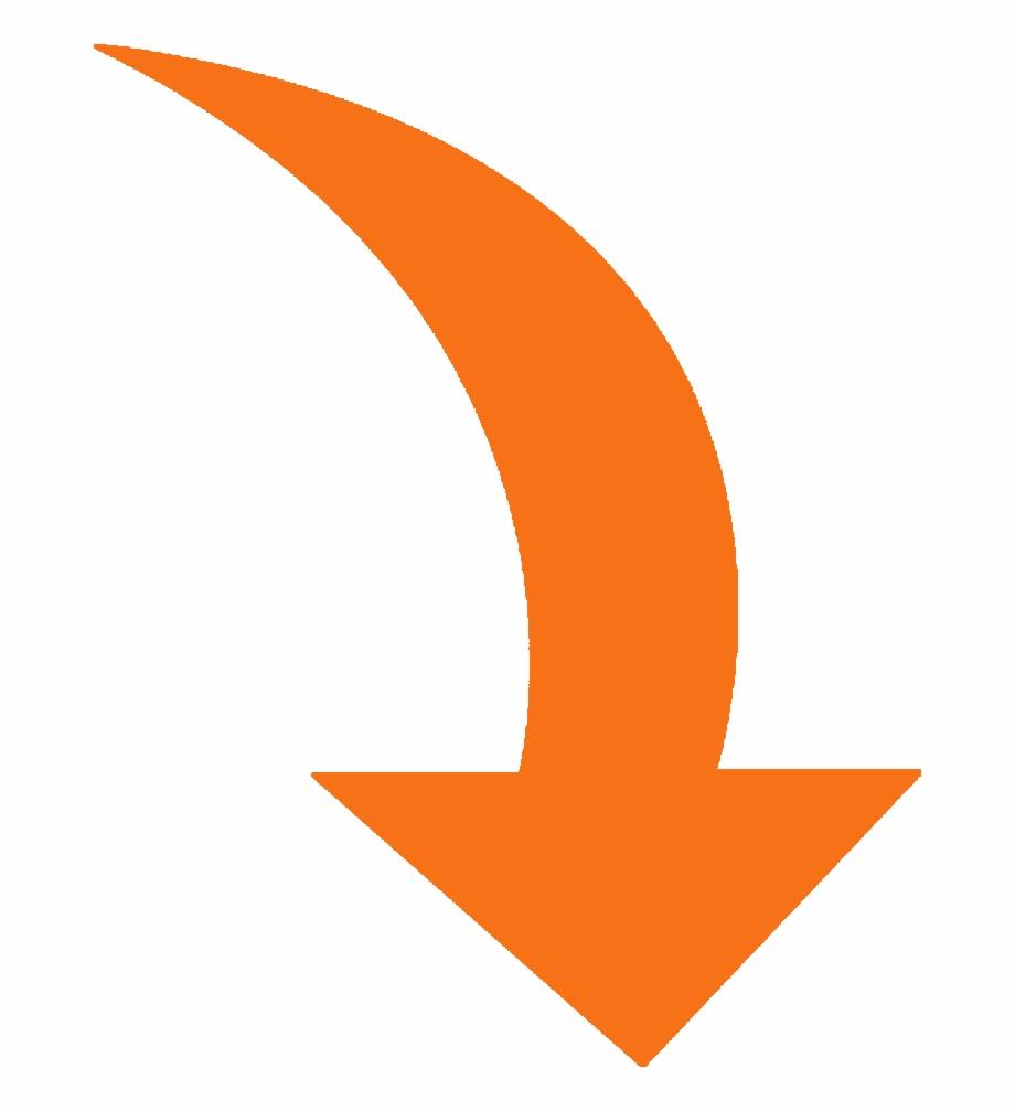 Swoosh arrow clipart graphic Clipart Arrows Swoosh - Curved Arrow Orange Png, Transparent ... graphic