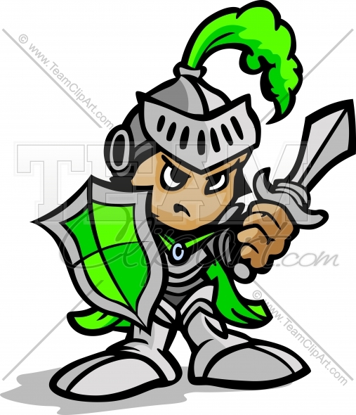 Sword and shield warrior clipart banner transparent download Knight Warrior Cartoon holding Sword and Shield Vector Image ... banner transparent download