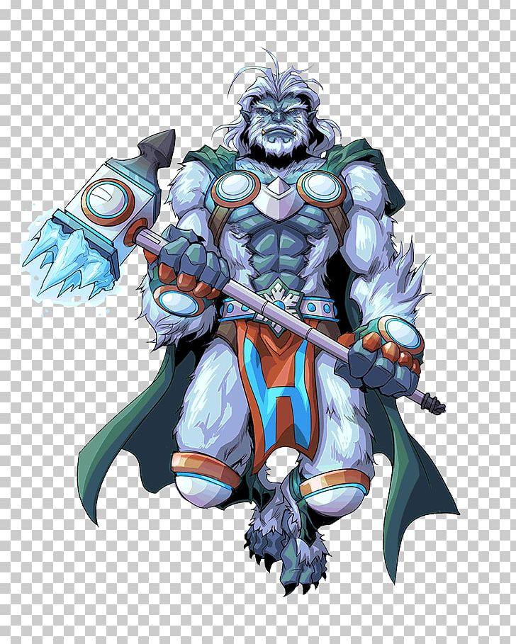 Sword and sorcery clipart clip transparent download Yeti Legendary Creature Urban Rivals Sword And Sorcery Hero ... clip transparent download
