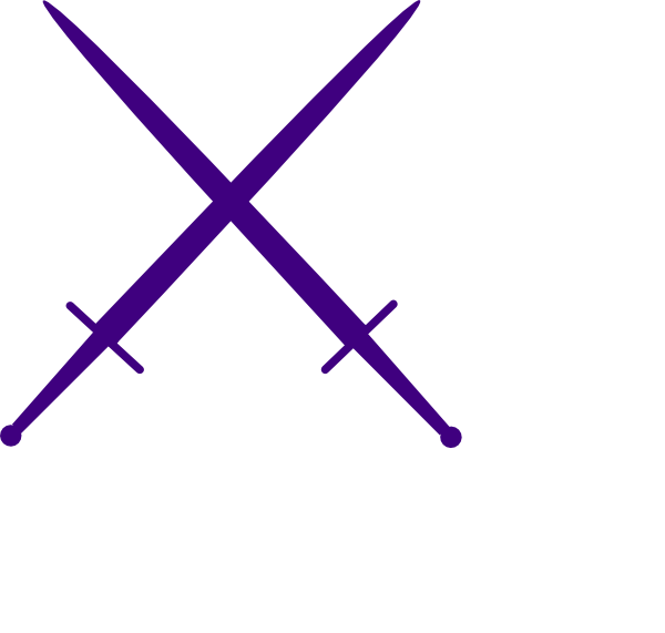 Sword cross clipart picture stock Purple Swords Clip Art at Clker.com - vector clip art online ... picture stock