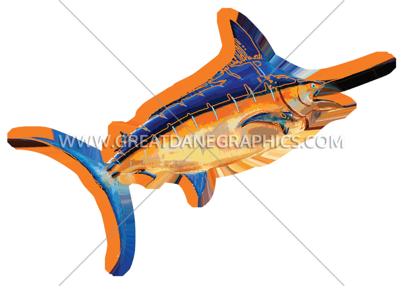 Sword fish clipart jpg transparent library Funky Swordfish | Production Ready Artwork for T-Shirt Printing jpg transparent library