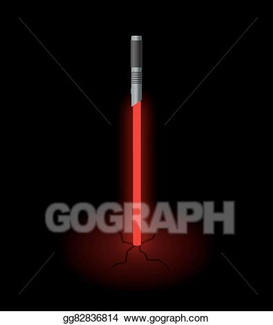 Sword in ground clipart graphic royalty free Vector Art - Light sword in ground. EPS clipart gg82836814 ... graphic royalty free