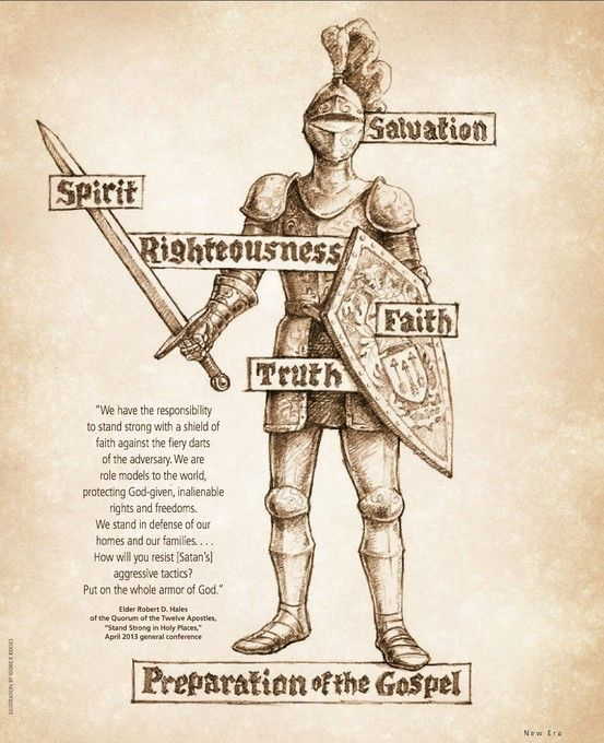 Sword of truth lds clipart svg library download Armor of God (New Era 6/13) #LDS #ldsseminary | Christian ... svg library download