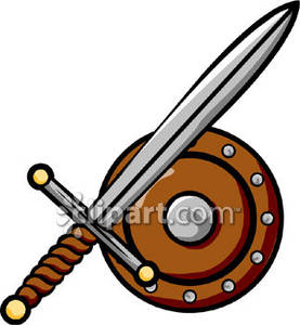 Sword shield clipart jpg freeuse download Sword and Shield Clip Art Royalty Free Clipart Picture jpg freeuse download