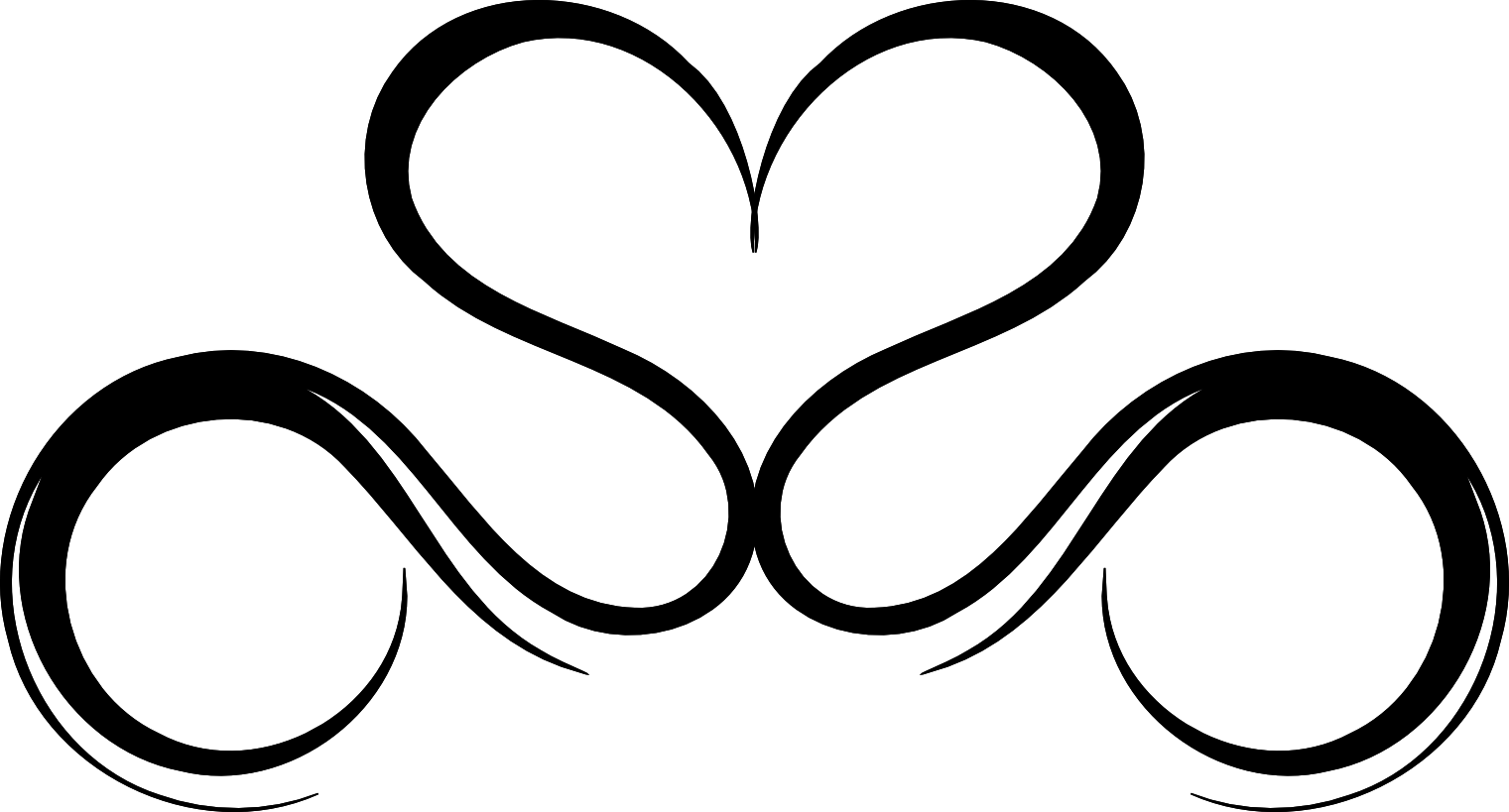 Sword through heart clipart b&w image transparent library Free Drawings Of Hearts With Banners, Download Free Clip Art ... image transparent library