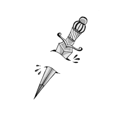 Sword through heart clipart b&w clip royalty free stock white dagger | Tumblr clip royalty free stock
