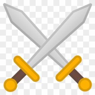 Swords clashed clipart png transparent Free PNG Crossed Swords Clip Art Download - PinClipart png transparent