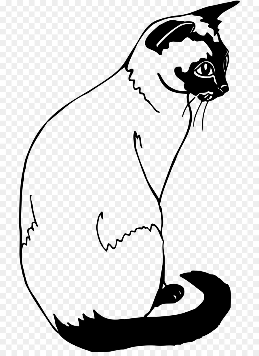 Syamese cat clipart svg stock Book Black And White png download - 768*1227 - Free ... svg stock