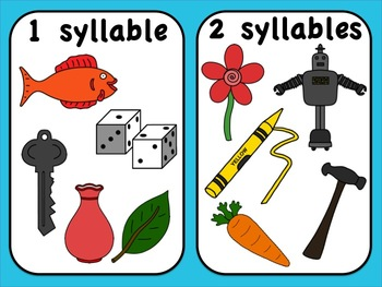 Syllable clipart picture black and white download Syllable Clipart (Clip Art) Set picture black and white download