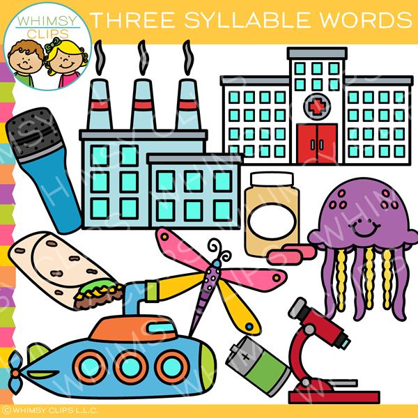 Syllable clipart