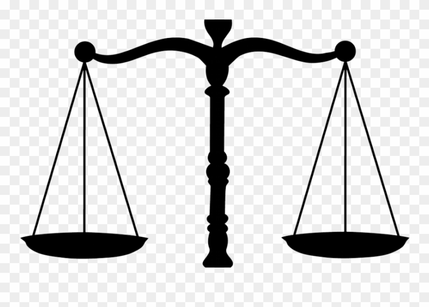 Justice weighing scale clipart image black and white Lawyer Symbol Clip Art - Justice Weighing Scale Png ... image black and white