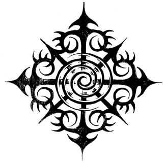 Symbol of chaos clipart png free library A symbol for chaos. The best looking one I could find ... png free library