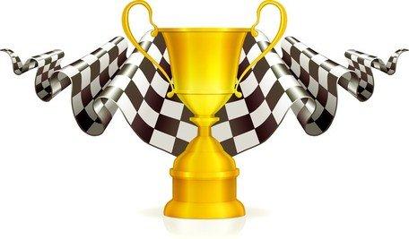 Symmetrical trophy clipart banner royalty free stock Gratis clipart och vektorgrafik med Trophy guld och Silver ... banner royalty free stock