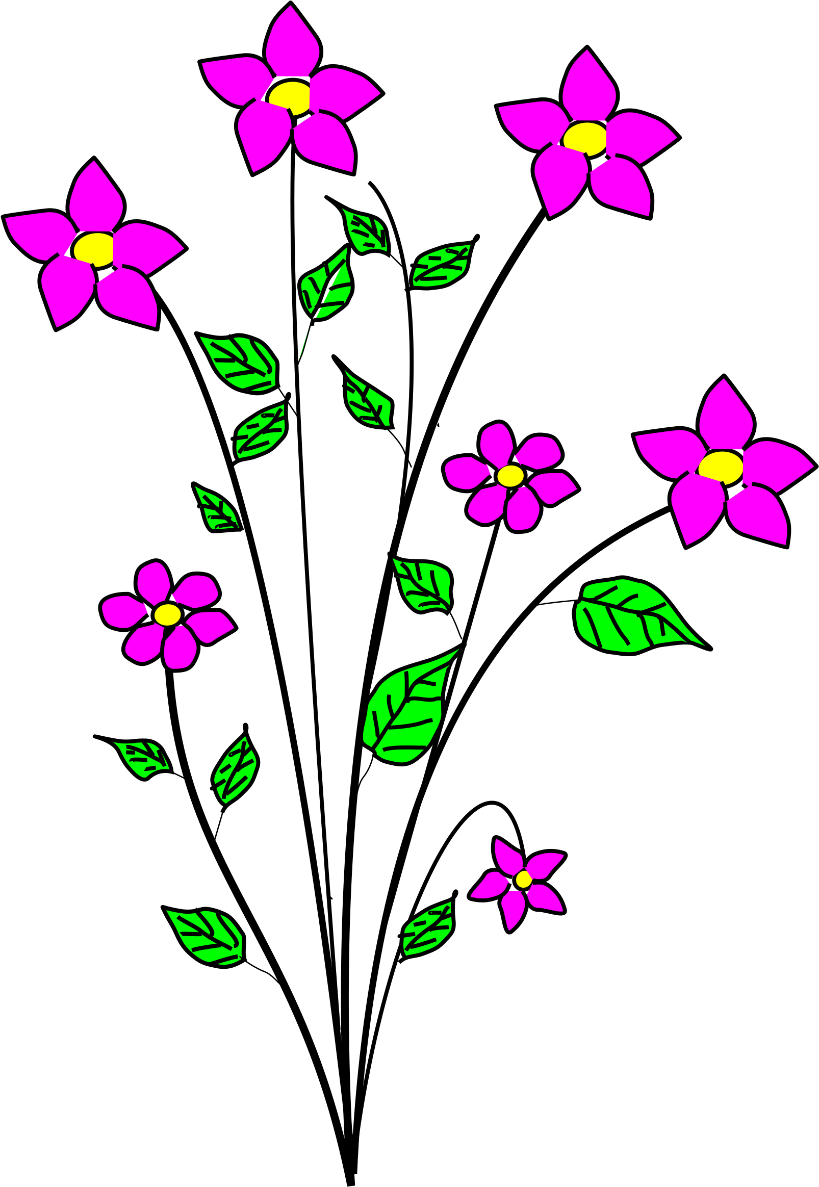 Sympathy clipart pink lillies boarder clip free download HD Sympathy Clipart Group - Clip Art Small Flowers , Free ... clip free download