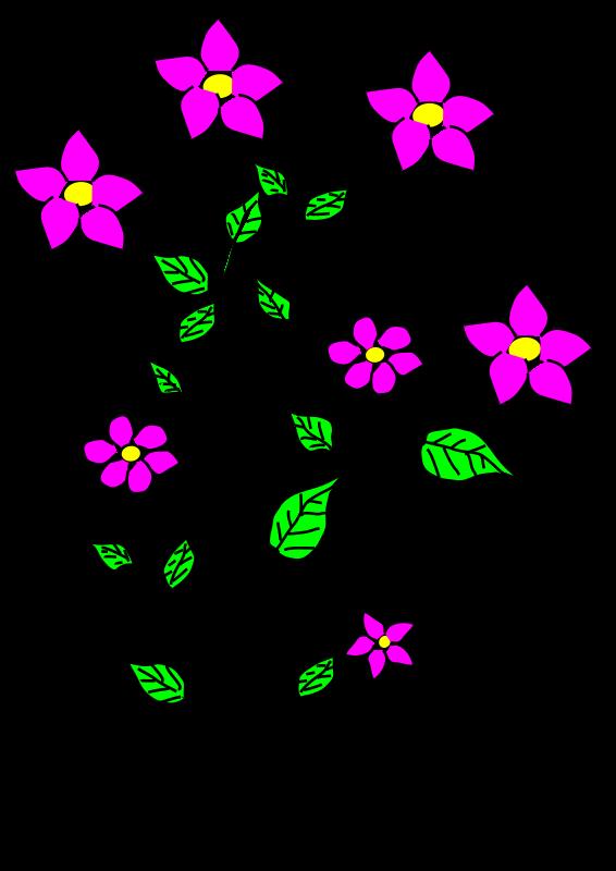 Tall flower clipart banner Clipart - Flowers, Bujung, Tonrak banner