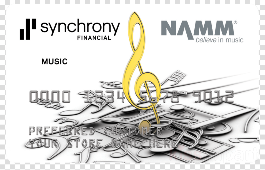 Synchrony financial clipart graphic library download Illustration, Drawing, Music, transparent png image ... graphic library download