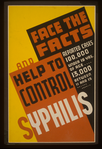 Syphilis clipart image free stock Face The Facts And Help To Control Syphilis Reported Cases ... image free stock