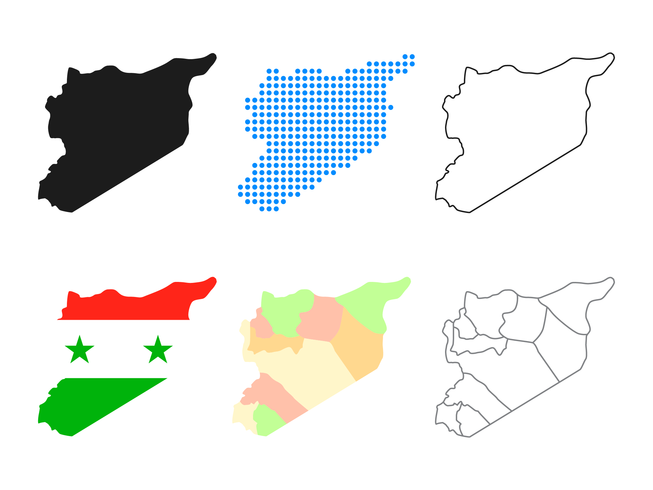 Syria map clipart clip art library library Syria Map Vector - Download Free Vectors, Clipart Graphics ... clip art library library