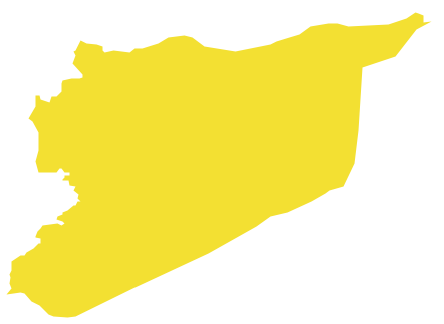 Syria map clipart jpg royalty free download Geo Map - Asia - Syria jpg royalty free download