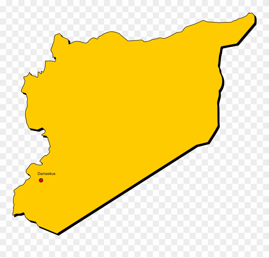 Syria map clipart clip art freeuse library Map Of Syria Png Clipart (#3440254) - PinClipart clip art freeuse library