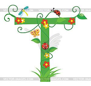 T clipart clipart free stock Letter T Clip Art Flower Clipart clipart free stock