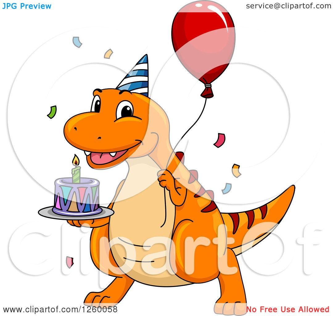 Dinosaur Birthday Clipart | Free download best Dinosaur ... clip art freeuse library
