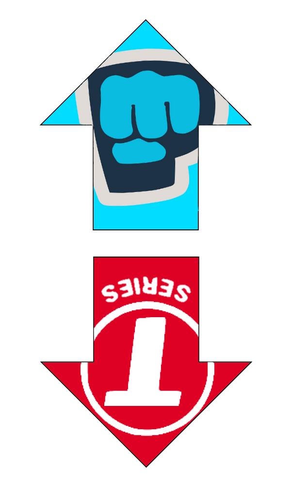 Shaped Logos so that Alexa can erase T-series ... png free stock