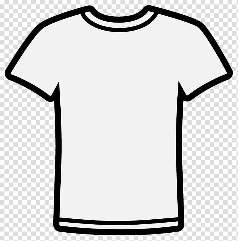 T shirt design clipart banner black and white library White crew-neck t-shirt , T-shirt Hoodie Raglan sleeve ... banner black and white library