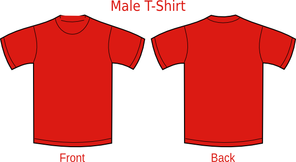 Red T Shirt Clip Art at Clker.com - vector clip art online ... vector black and white download