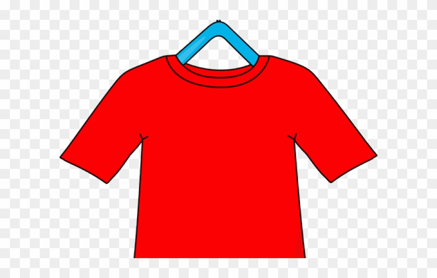 Shirt Clipart Red Shirt - Shirt On A Hanger - Png Download ... banner free library