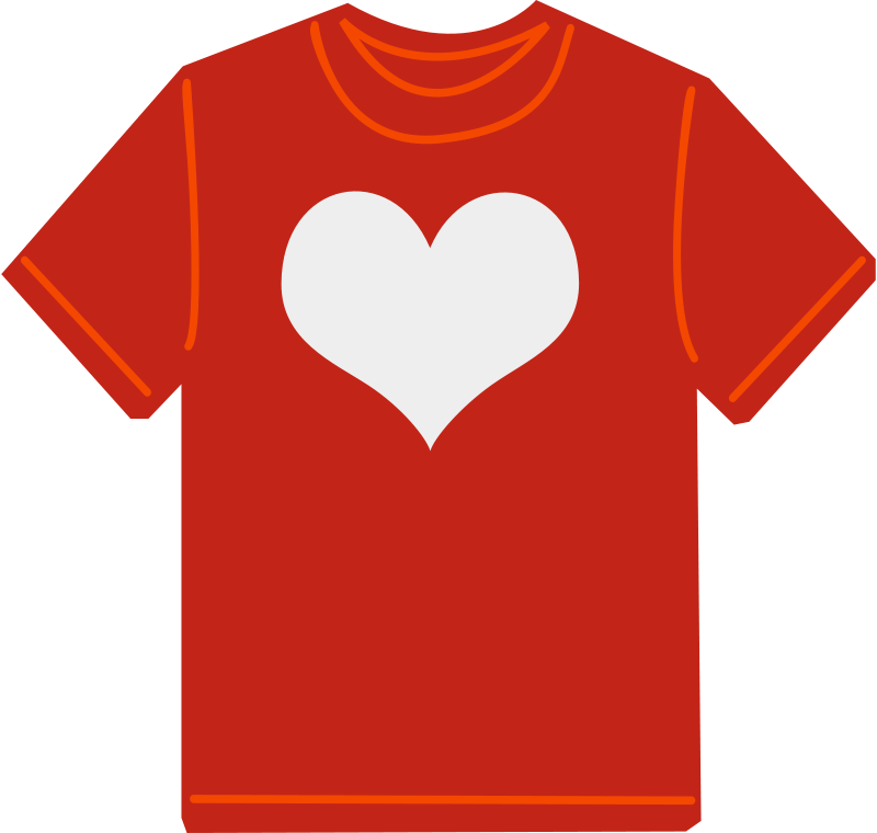 Free Clipart: Red T-shirt | shokunin png download