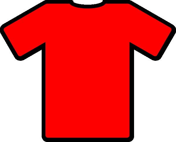 Red Tshirt Clip Art at Clker.com - vector clip art online ... svg royalty free library