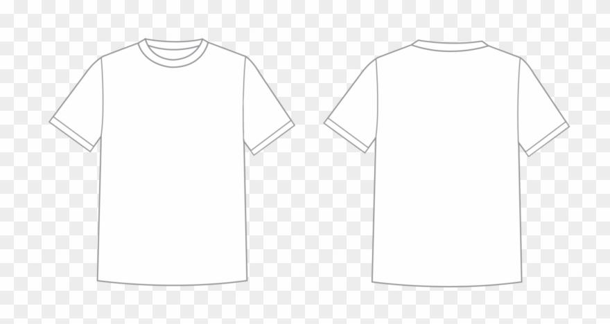 T shirt png transparent clipart clip art transparent stock Black T Shirt Template Png Transparent Background - Camisa ... clip art transparent stock