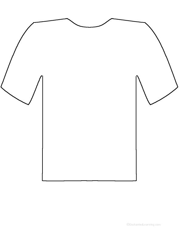 T shirt slogan cliparts jpg royalty free download T-Shirt Slogan - Printable Worksheet. EnchantedLearning.com jpg royalty free download