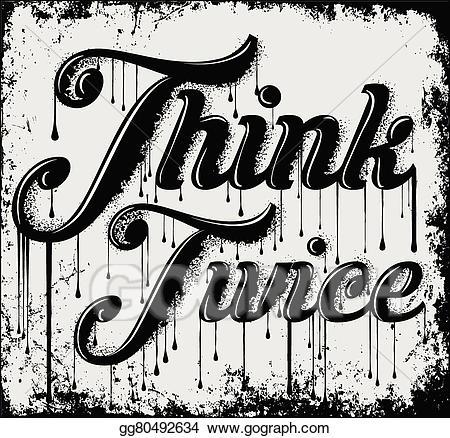 T shirt slogan cliparts black and white download Vector Clipart - Vintage slogan t shirt graphic vector ... black and white download