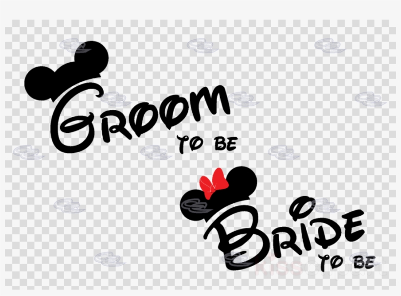 T shirt sticker clipart image royalty free Bride To Be And Groom Clipart T-shirt Minnie Mouse ... image royalty free