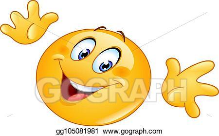 Ta da clipart clip stock Vector Stock - Ta da emoticon. Clipart Illustration ... clip stock