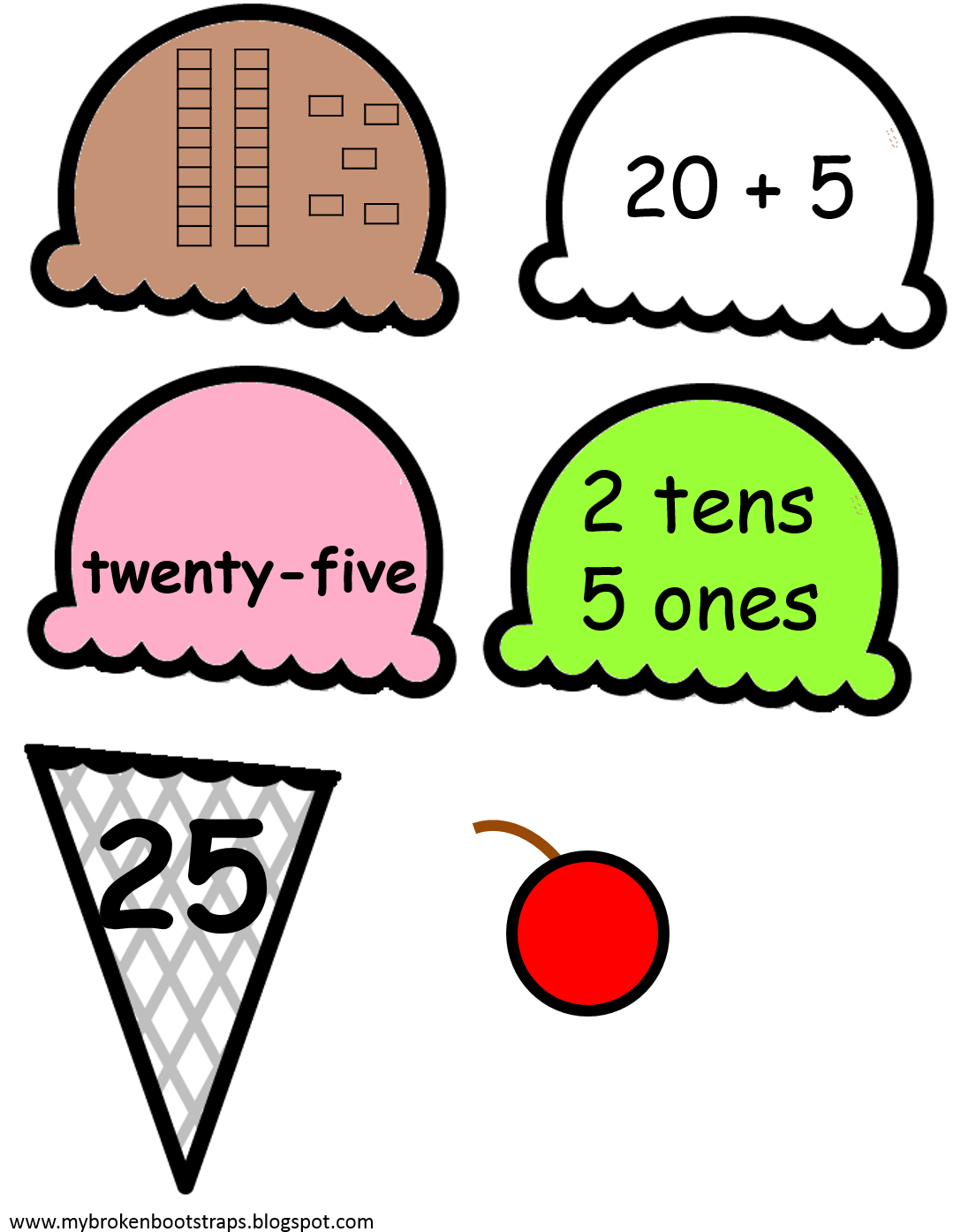 Ta da clipart image free stock Ta Da This One Helps Students Practice Numbers, Number ... image free stock