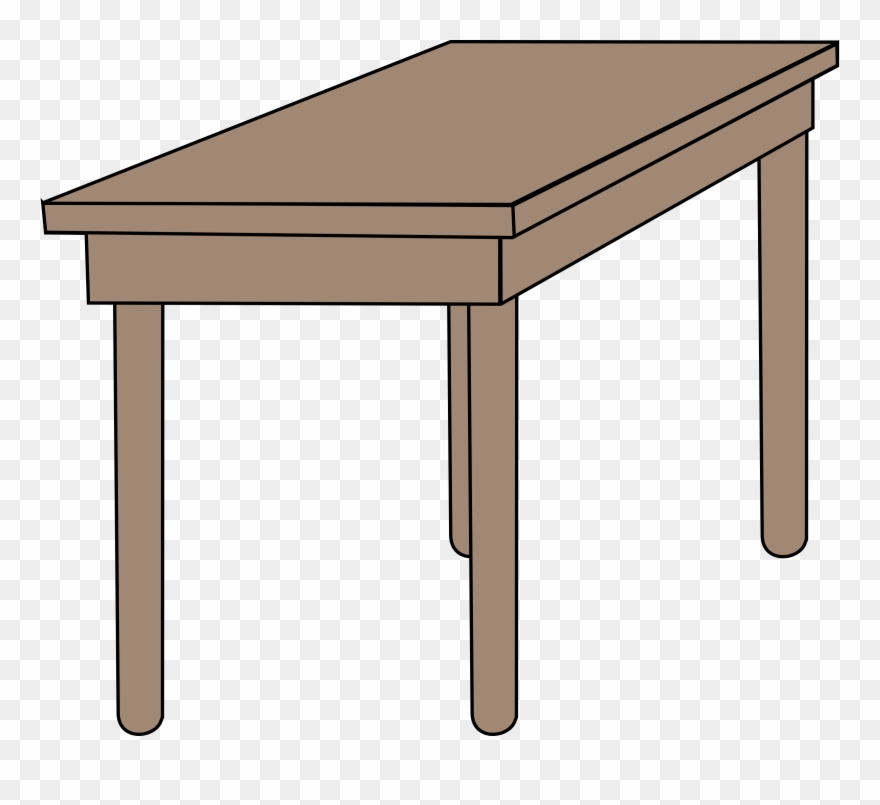 Tabl clipart clip art free library Table Clipart Class Room - Desk Clipart - Png Download ... clip art free library