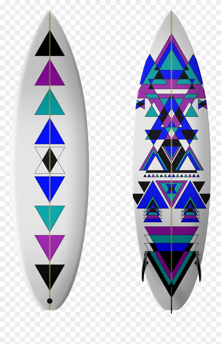 Tabla de surf clipart jpg library stock Retro Clipart Surfboard - Tablas De Surf Diseños - Png ... jpg library stock