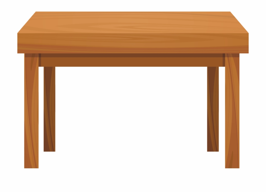 Table clipart transparent background image Table Wood Clip Art - Transparent Background Table Clipart ... image