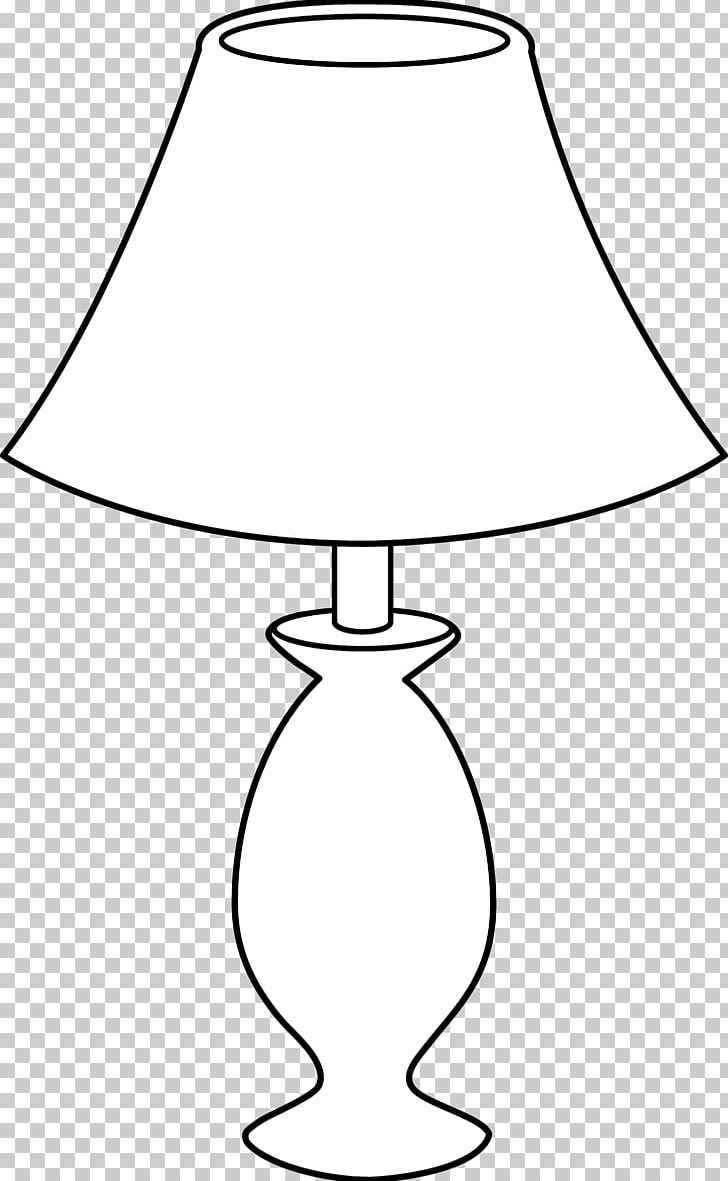 Table lamp clipart black and white vector black and white Table Lamp Black And White Incandescent Light Bulb PNG ... vector black and white