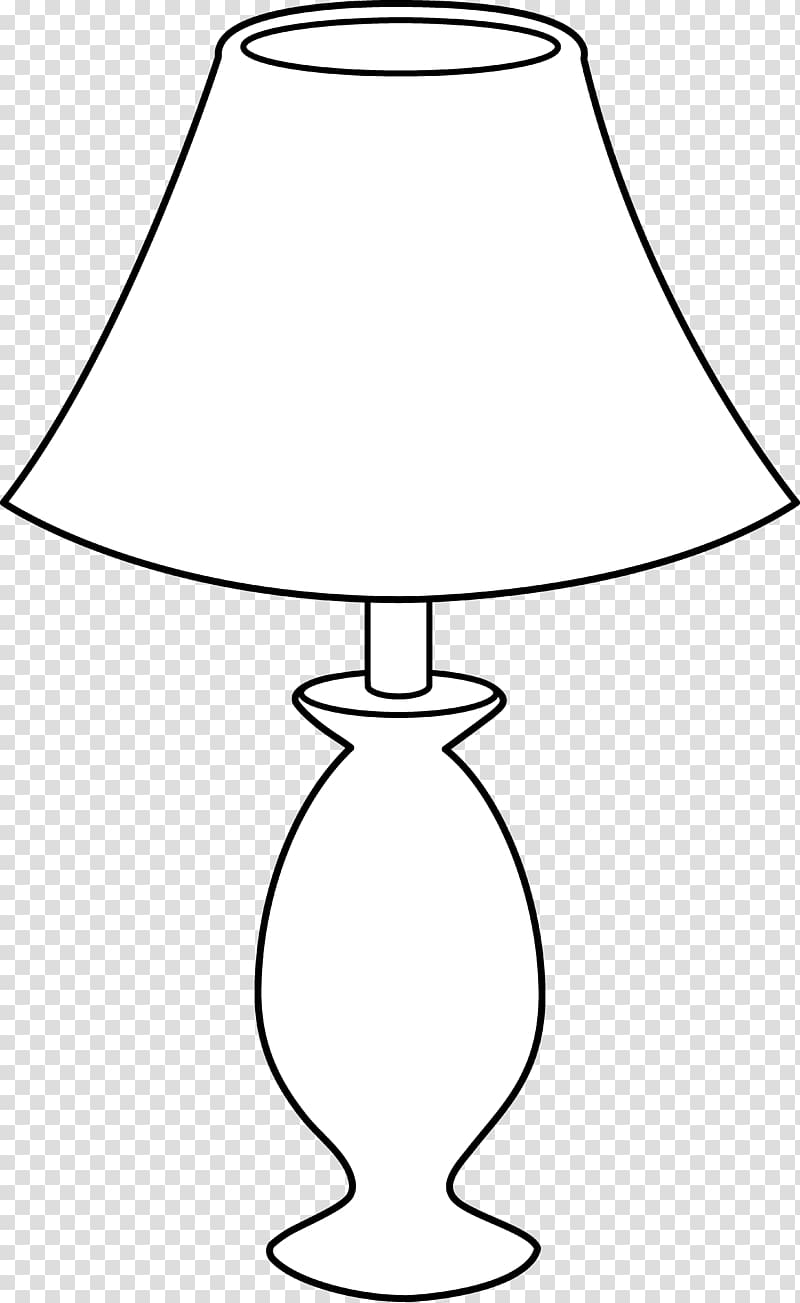 Table lamp clipart black and white jpg royalty free Table Lamp Black and white Incandescent light bulb , Lamp ... jpg royalty free