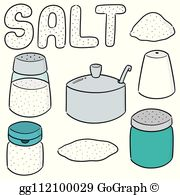 Table salt clipart picture royalty free stock Table Salt Clip Art - Royalty Free - GoGraph picture royalty free stock