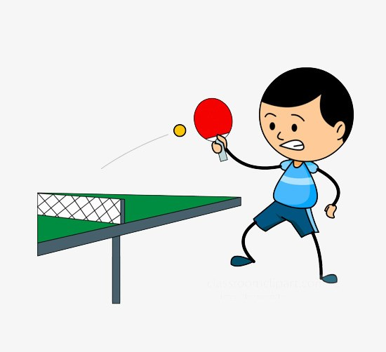 Table tennis images clipart jpg free library Play table tennis clipart 7 » Clipart Portal jpg free library
